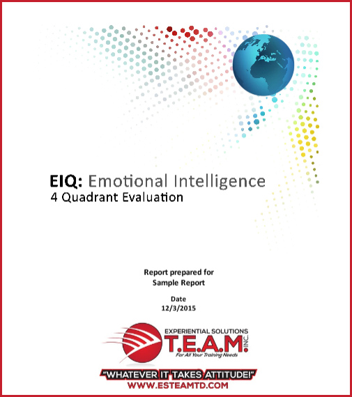 Click for Sample Emotional Intelligence Report